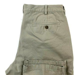 LL Bean  Pleated Flannel Lined Pants